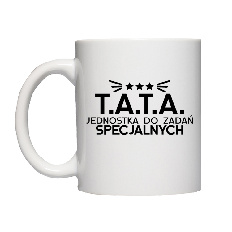 Kubek T.A.T.A Jednostka do Zadań Specjalnych
