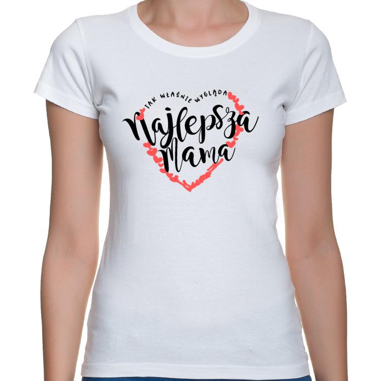 Koszulka Najlepsza Mama (damska)