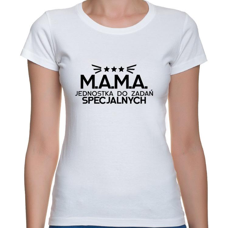 Koszulka M.A.M.A Jednostka do Zadań Specjalnych (damska)