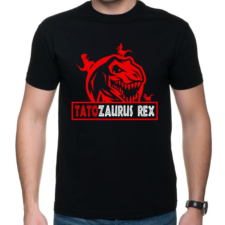Koszulka Tatozaurus Rex - dla Taty 2 (męska)