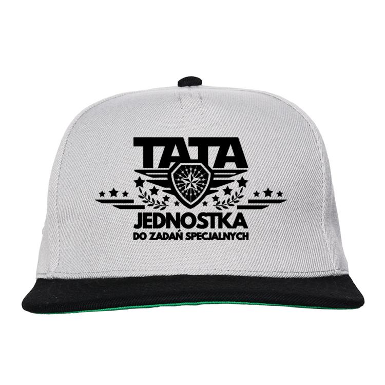 Czapka Snapback dla Taty Tata jednostka do zadań specjalnych - nowa wersja 2
