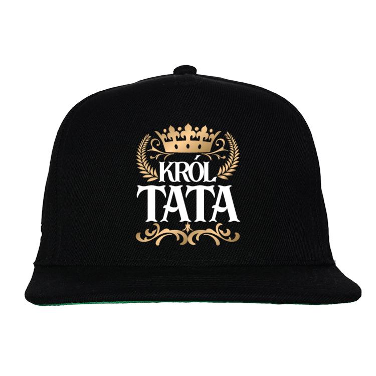 Czapka Snapback dla Taty Król Tata 2
