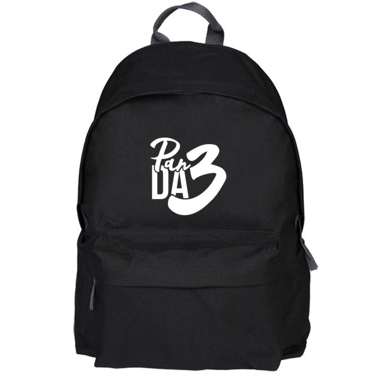 Czarny plecak - pan da 3