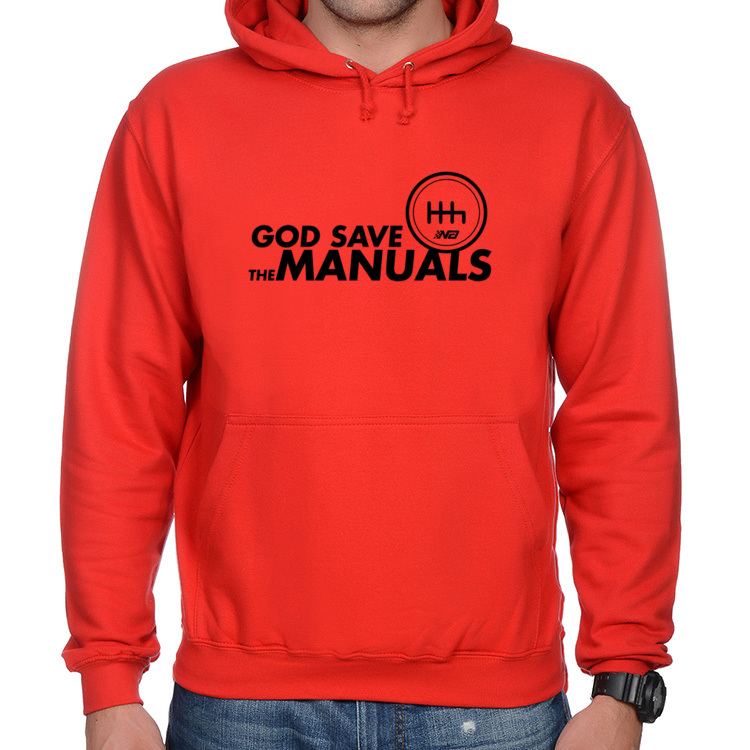 Bluza SaveManuals red