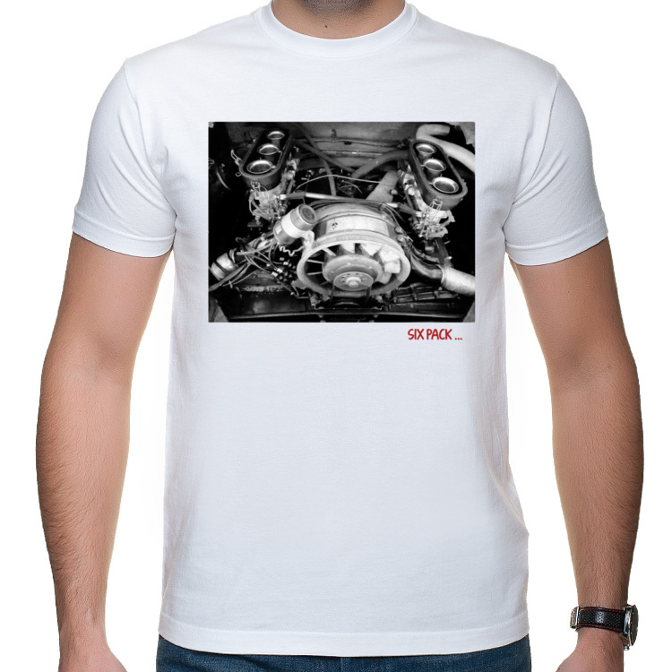 T-shirt b/w six pack